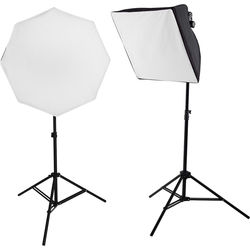 Westcott uLite LED 2-Light Collapsible Softbox Kit