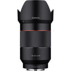 Rokinon AF 35mm f/1.4 FE Lens for Sony E