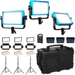 Dracast Location Plus 3-Light Kit (Daylight)