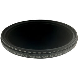 GB Optics 72mm Slim Variable Neutral Density 0.6 to 2.4 Filter (2 to 8 Stops)