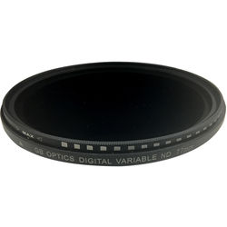 GB Optics 77mm Slim Variable Neutral Density 0.6 to 2.4 Filter (2 to 8 Stops)