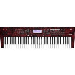 Korg Kross 2 61-Key Synthesizer Workstation (Red Marble)