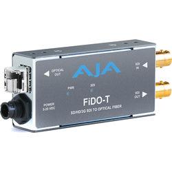 AJA 1-Channel 3G-SDI to Multi-Mode LC Fiber Transmitter