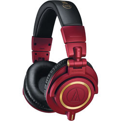 Audio-Technica ATH-M50x Monitor Headphones (Limited Edition Red)