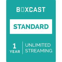 BoxCast Standard (1-Year Live Streaming Subscription, Download)