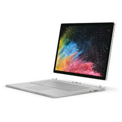 """Microsoft 15"""" Surface Book 2 Multi-Touch 2-in-1 Notebook (Silver)"""