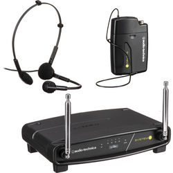 Audio-Technica ATW-901A/H System 9 VHF Wireless Unipak System with a PRO 8HEcW Headworn Microphone