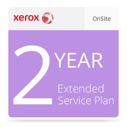 Xerox 2-Year Extended On-Site Service Plan for VersaLink C600