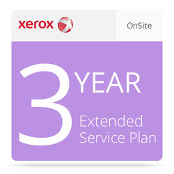 Xerox 3-Year Extended On-Site Service Plan for VersaLink C600