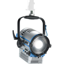 ARRI L7-C LE2 LED Fresnel with powerCON Cable (Silver/Blue, Pole Operated)