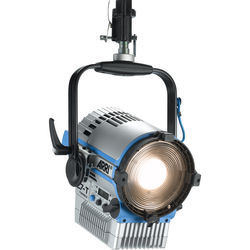 "ARRI L7-TT 7"" Tungsten LED Fresnel with powerCON Cable (Silver/Blue, Pole Operated)"