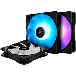 Deepcool RF 120 RGB LED 120mm PWM Fan (3-Pack)