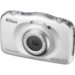 Nikon COOLPIX W100 Digital Camera (White)