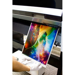 "Breathing Color Allure Dye Sub Metal Media (16 x 20"", 5 Sheets)"