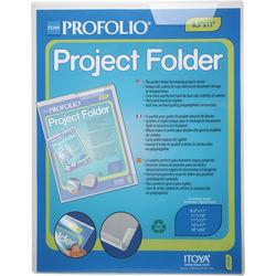 "Itoya Profolio Project Folder (8.5 x 11"")"