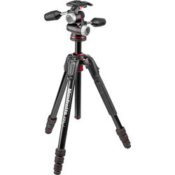 Manfrotto 190go! Aluminum M-Series Tripod with MHXPRO-3W 3-Way Pan/Tilt Head