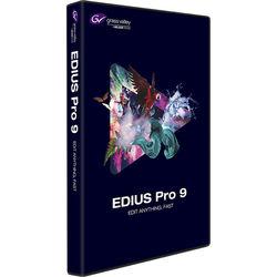 Grass Valley EDIUS Pro 9 (Jump Upgrade from EDIUS 2-7 / EDIUS Neo, DVD)