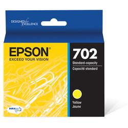 Epson 702 Yellow DURABrite Ultra Standard-Capacity Ink Cartridge with Sensormatic