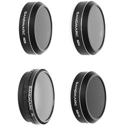 SANDMARC Aerial Filter Set for DJI Phantom 4 Pro (4-Pack)
