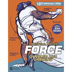Focal Press Book: FORCE - Dynamic Life Drawing (10th Anniversary Edition, Paperback)