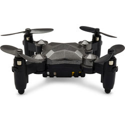 Top Race Foldable Quadcopter Mini Drone with Wrist Watch Design Transmitter