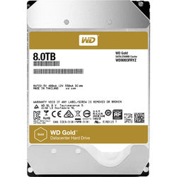 "WD 8TB Gold 7200 rpm SATA III 3.5"" Internal Datacenter HDD"
