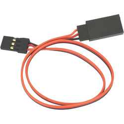 "E-flite  Lightweight Extension Cable for Common Receiver and Servo Brands (12"")"