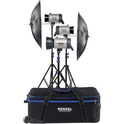 Hensel Integra 500 Plus Freemask 3-Light Kit