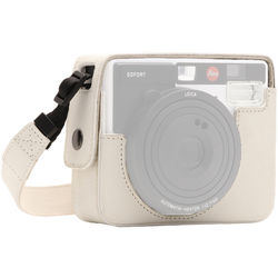 MegaGear Ever Ready PU Leather Camera Case for Leica Sofort Instant (White)