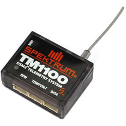 Spektrum TM1100 DSMX Fly-By Aircraft Telemetry Module