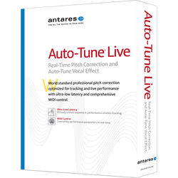 Antares Audio Technologies Auto-Tune Live Pitch Correction and Vocal Effect (Download)