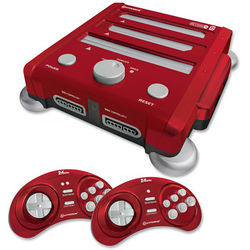 HYPERKIN RetroN 3 Gaming Console (Laser Red)