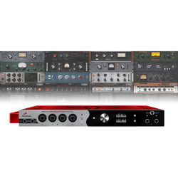 Antelope Zen Studio+ Red Edition Portable Thunderbolt & USB Audio Interface (Red Enclosure)