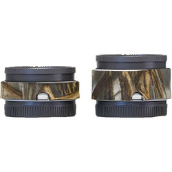 LensCoat Lens Cover Set for Sony FE 1.4x and 2.x Teleconverters (Realtree Max5)