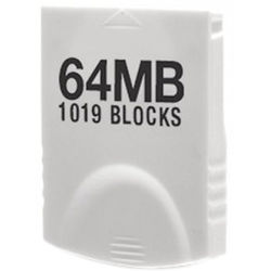 HYPERKIN Tomee 64MB Memory Card for Wii & GameCube