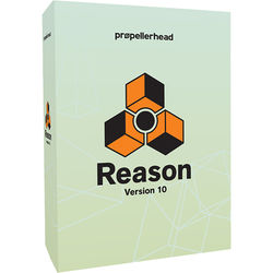 Propellerhead Software Reason 10 - Music Production Software (Upgrade from Limited/Adapted/Essentials, Download)