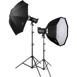Impact Astral Extreme 2-Monolight Portrait Kit