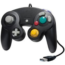 HYPERKIN CirKa Premium GameCube-Style USB Controller (Black)