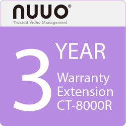 NUUO 3-Year Warranty Extension for CT-8000R Series