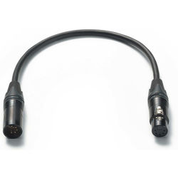 ARRI 5-Pin XLR Male to 5-Pin XLR Female Short Audio Cable (1.3')