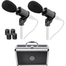 Senal SCI-3212MP Small-Diaphragm Condenser Microphone with Interchangeable Capsules (Matched Pair)