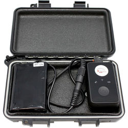 KJB Security Products iTrail Solo GPS Tracking Device Kit with Extended Battery & Case