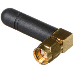 Ambient Recording ANT-2.4-SMA-M90 External Antenna for Lockit Devices (Right-Angle)