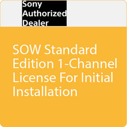 Sony SOW Standard Edition 1-Channel License for Initial Installation