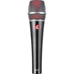sE Electronics Dynamic Instrument Microphone with Clip, Replacement Foam & Zippered Bag