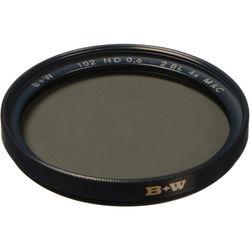 B+W 43mm MRC 102M Solid Neutral Density 0.6 Filter (2 Stop)
