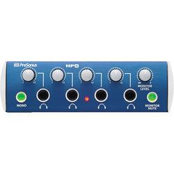 PreSonus HP4 - 4-Channel Headphone Distribution Amplifier