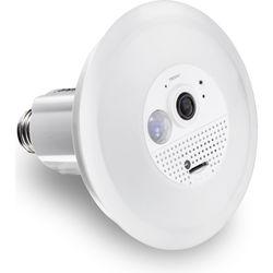 TRENDnet Wi-Fi Light Bulb with Covert 720p Wi-Fi Fisheye Camera