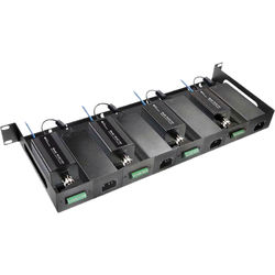 NVT Eo2 Rack Mount Tray Kit for Four Two-Wire Transceivers & Four 60/110W Power Supplies