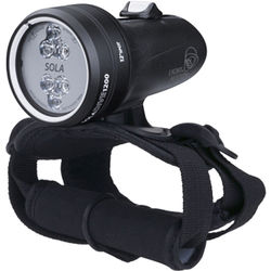Light & Motion SOLA Dive 1200 Spot LED Light (Black, US)